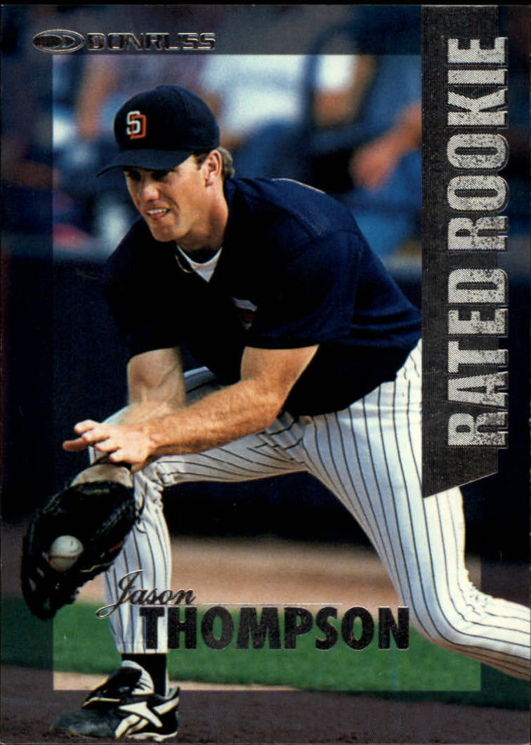 1997 Donruss Rated Rookies #1 Jason Thompson