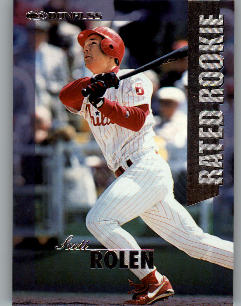 1997 Donruss Rated Rookies #3 Scott Rolen