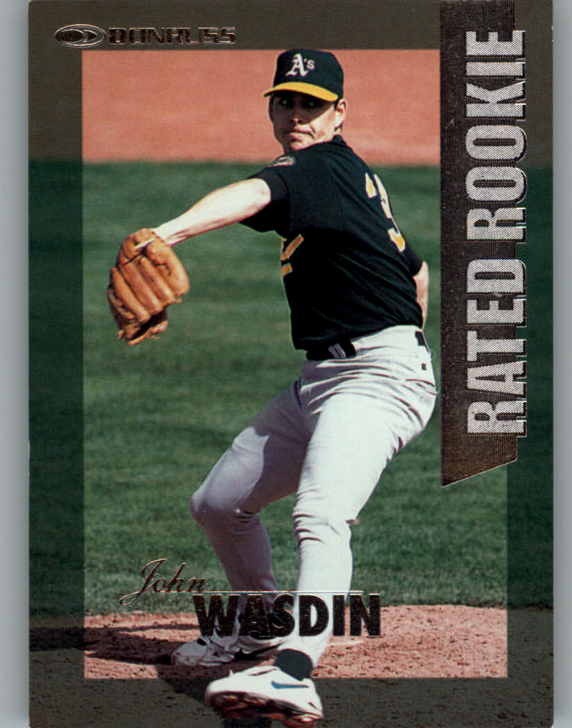 1997 Donruss Rated Rookies #9 John Wasdin
