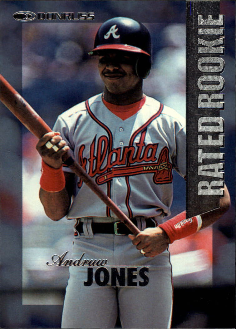 1997 Donruss Rated Rookies #20 Andruw Jones