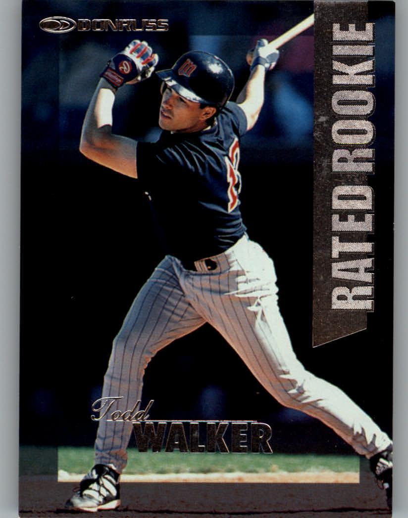 1997 Donruss Rated Rookies #25 Todd Walker