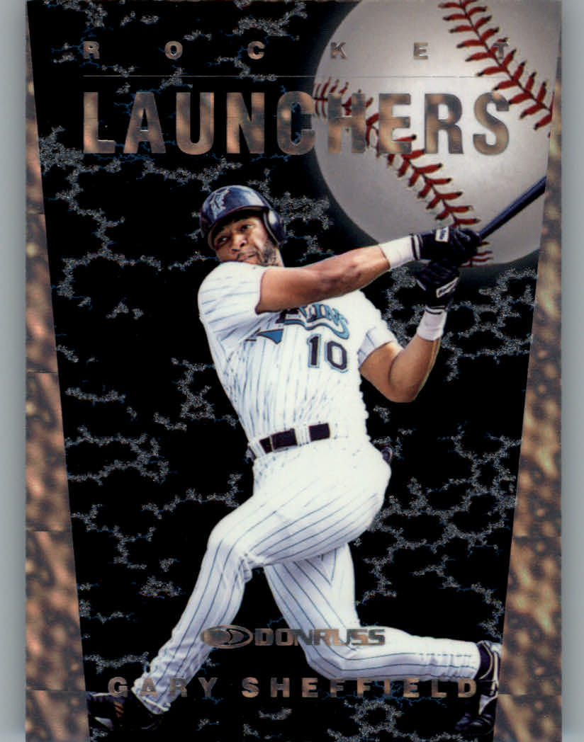 1997 Donruss Rocket Launchers #10 Gary Sheffield
