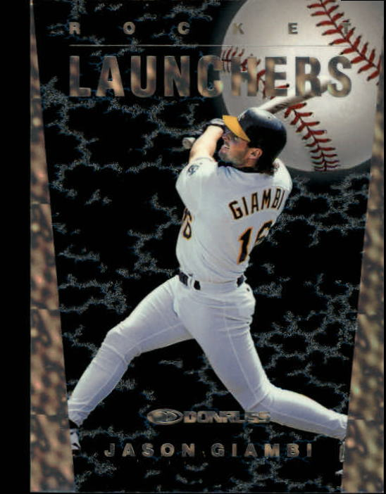 1997 Donruss Rocket Launchers #14 Jason Giambi