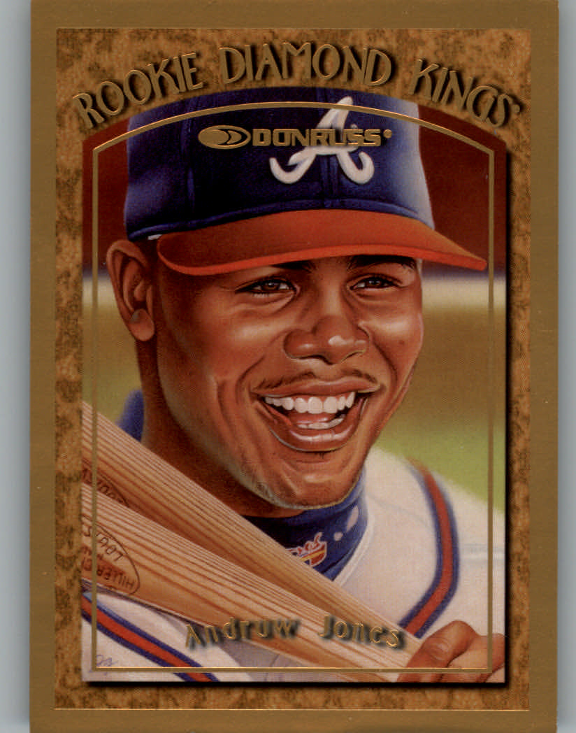 1997 Donruss Rookie Diamond Kings #1 Andruw Jones