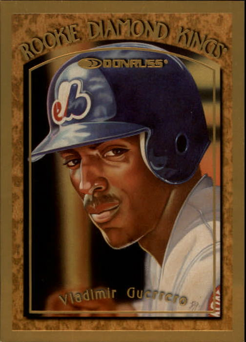 1997 Donruss Rookie Diamond Kings #2 Vladimir Guerrero