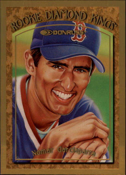 1997 Donruss Rookie Diamond Kings #7 Nomar Garciaparra