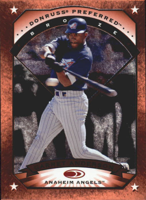 1997 Donruss Preferred #5 Garret Anderson B