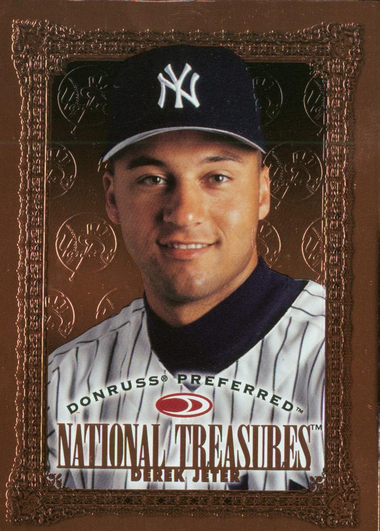 1997 Donruss Preferred #184 Derek Jeter NT B