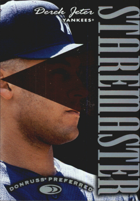 1997 Donruss Preferred Staremasters #7 Derek Jeter