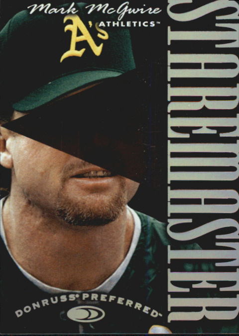 1997 Donruss Preferred Staremasters #14 Mark McGwire