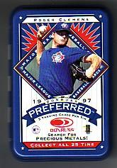 1997 Donruss Preferred Tin Boxes #4 Roger Clemens