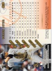 1997 Donruss Team Sets Pennant Edition #123 Derek Jeter back image