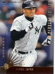 1997 Donruss Team Sets Pennant Edition #123 Derek Jeter front image