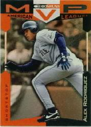 1997 Donruss Team Sets MVP's #7 Alex Rodriguez