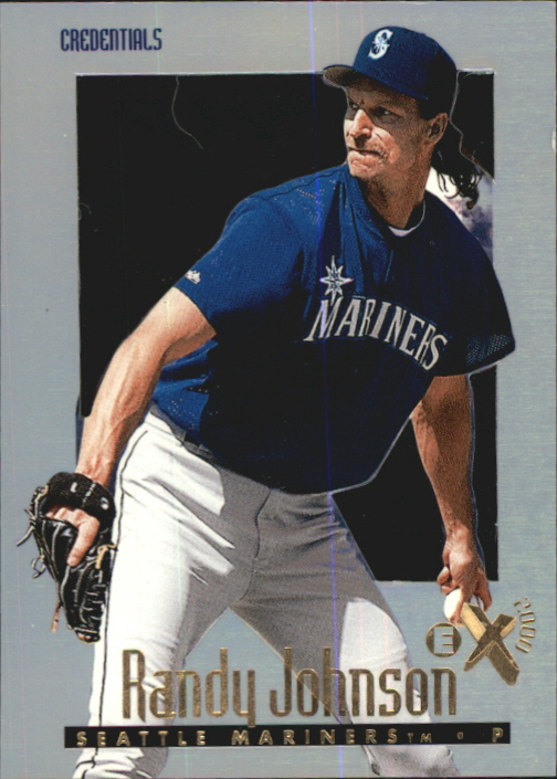 1997 E-X2000 Credentials #41 Randy Johnson