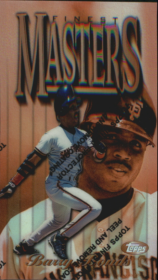 1997 Finest Refractors #1 Barry Bonds B