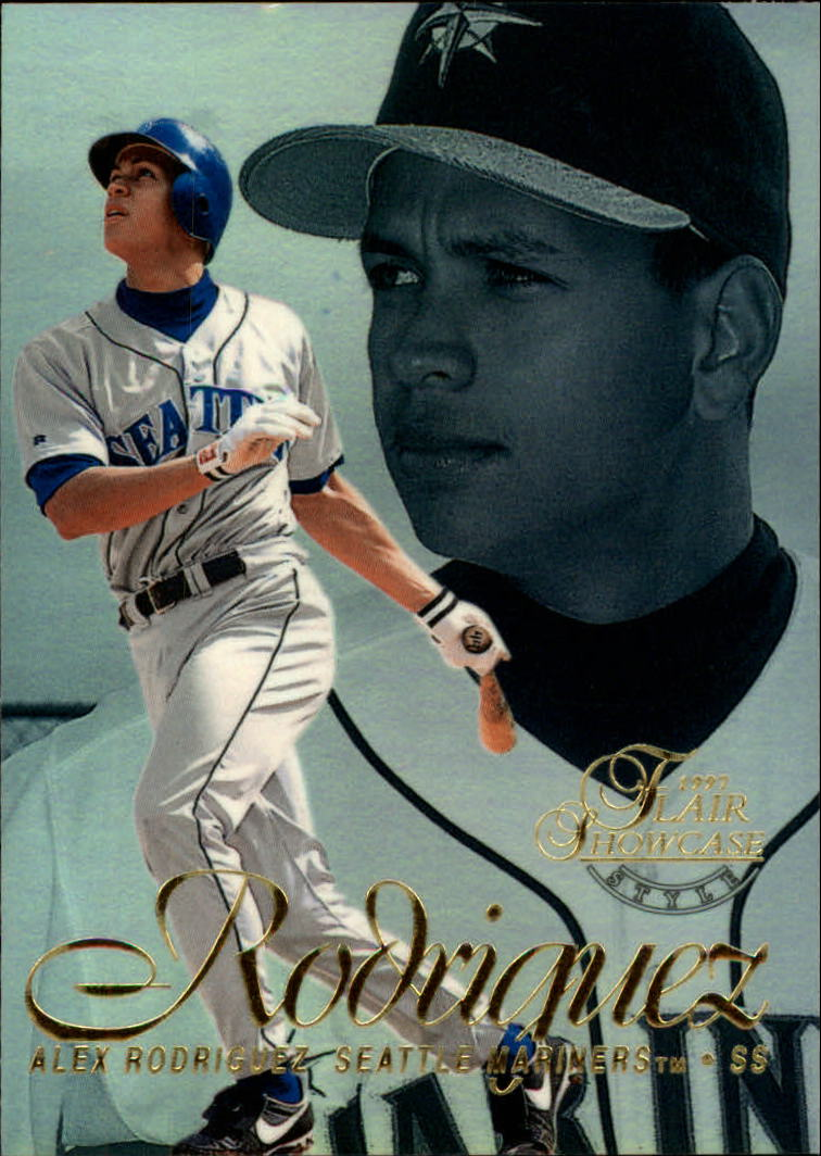 1997 Flair Showcase Row 2 #3 Alex Rodriguez