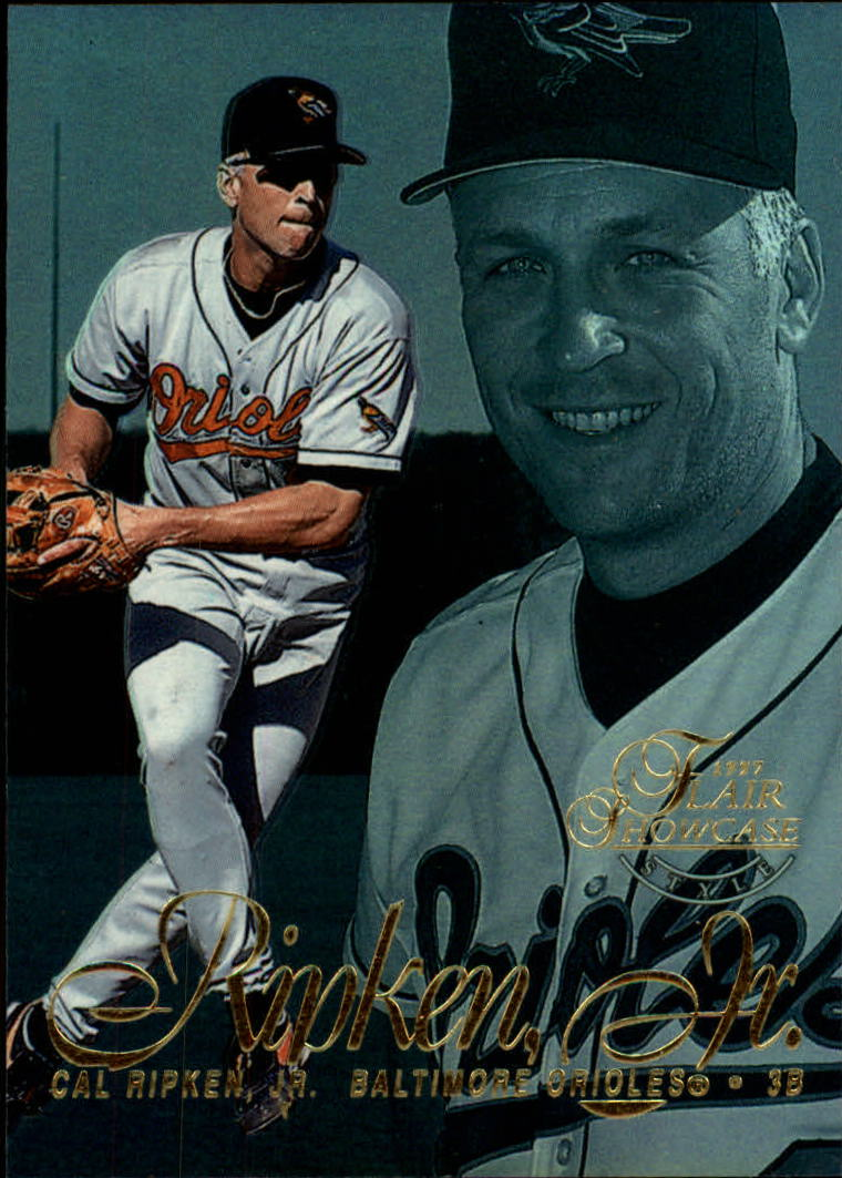 1997 Flair Showcase Row 2 #8 Cal Ripken