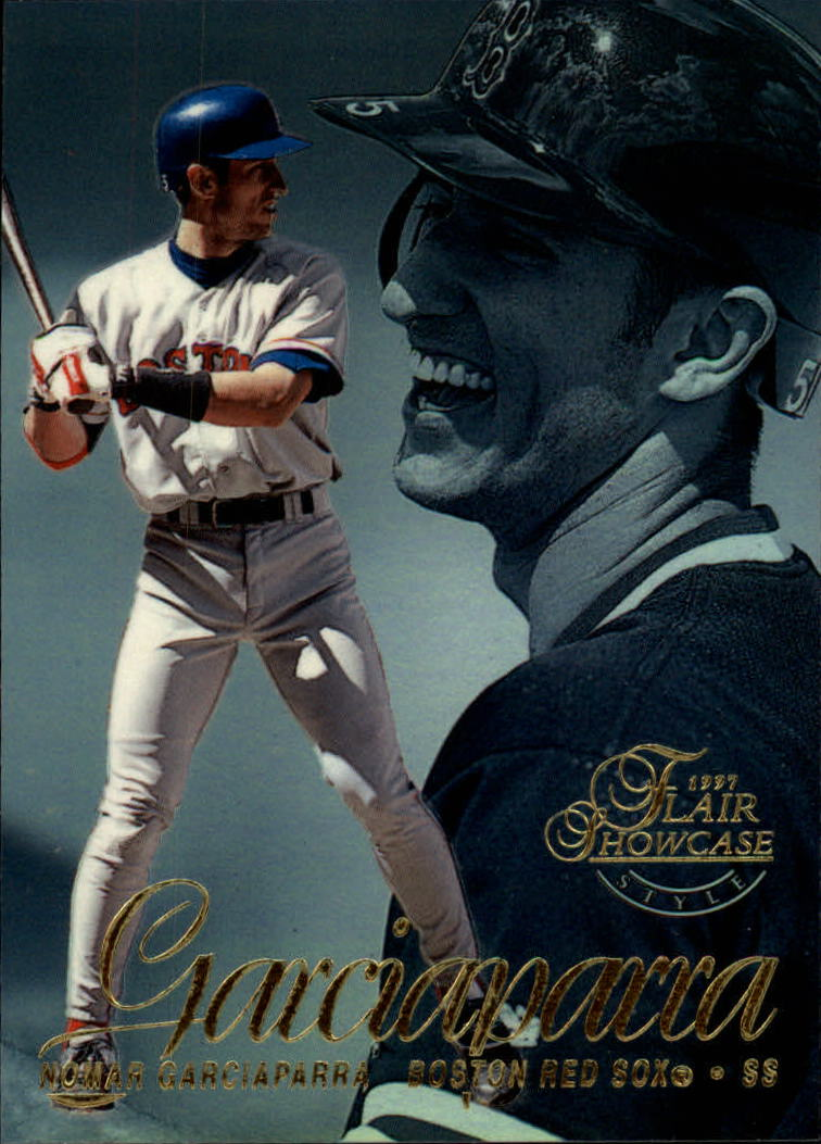 1997 Flair Showcase Row 2 #26 Nomar Garciaparra