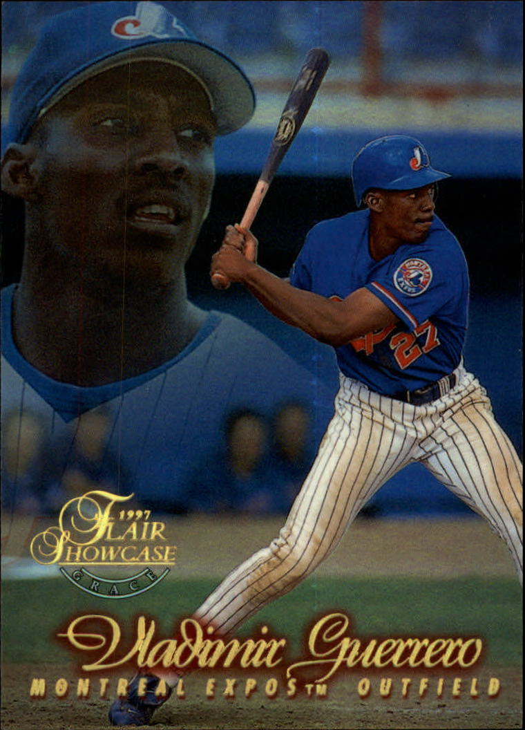 1997 Flair Showcase Row 2 #27 Vladimir Guerrero