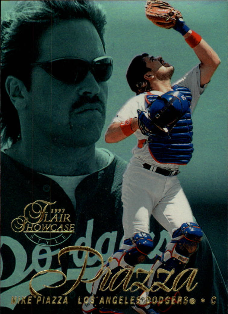 1997 Flair Showcase Row 2 #31 Mike Piazza
