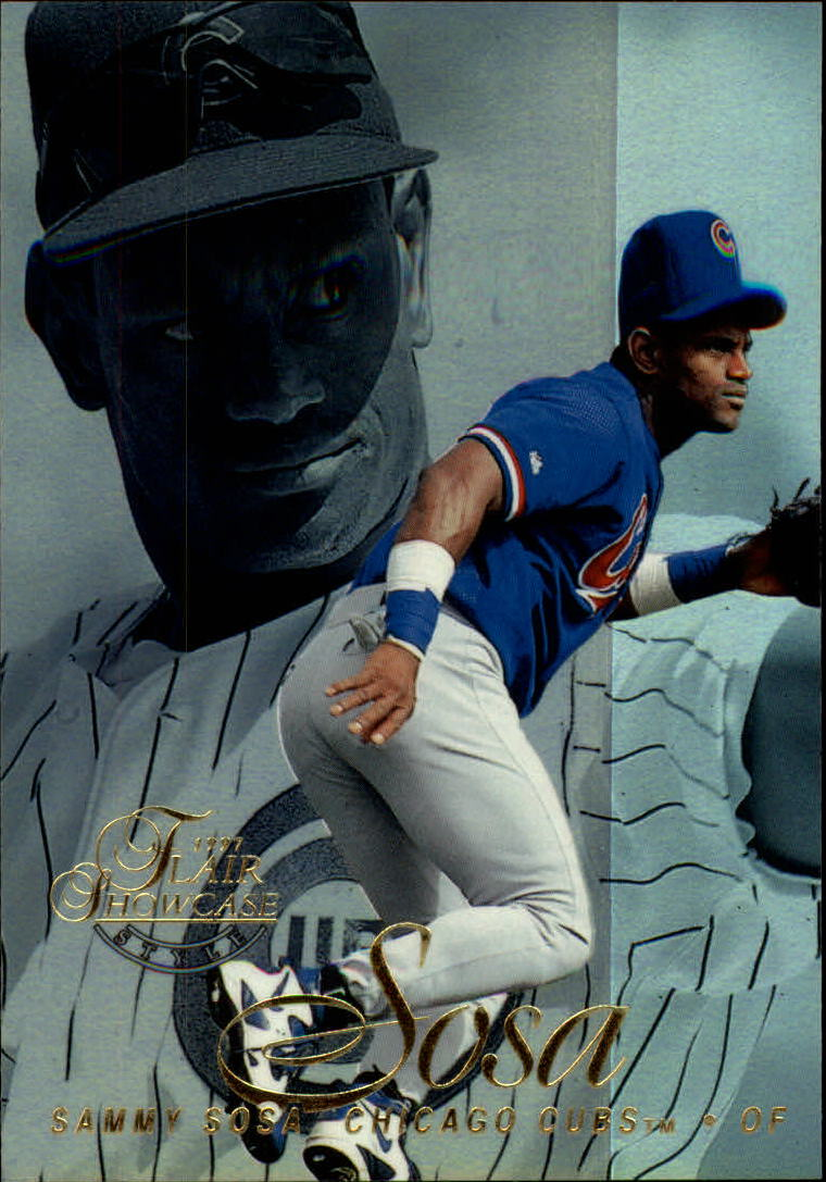 1997 Flair Showcase Row 2 #34 Sammy Sosa