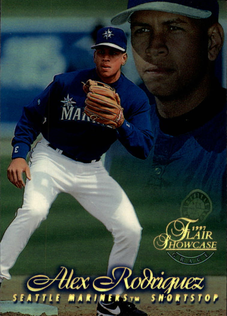 1997 Flair Showcase Row 1 #3 Alex Rodriguez