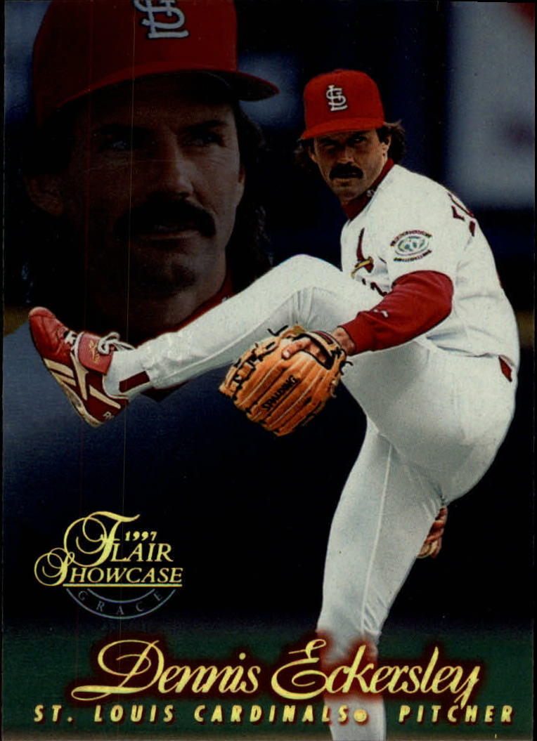 1997 Flair Showcase Row 1 #167 Dennis Eckersley