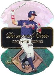1997 Flair Showcase Diamond Cuts #9 Chipper Jones