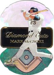 1997 Flair Showcase Diamond Cuts #11 Mark McGwire