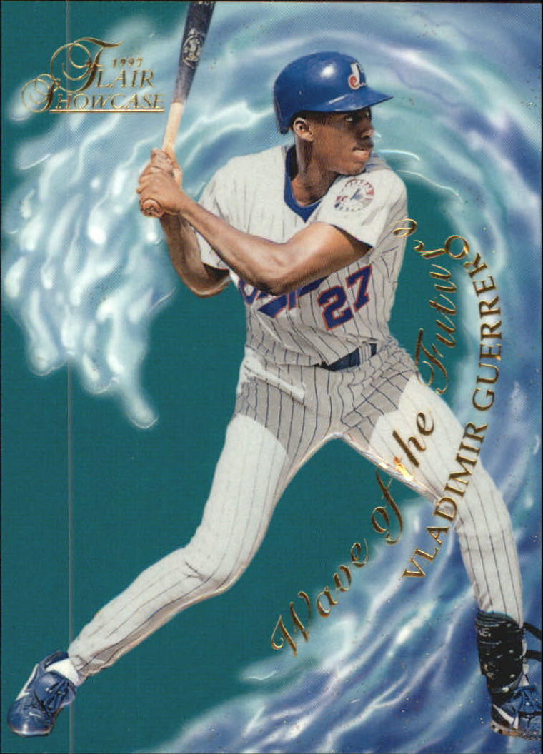 1997 Flair Showcase Wave of the Future #14 Vladimir Guerrero