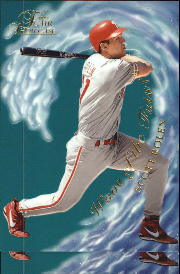 1997 Flair Showcase Wave of the Future #19 Scott Rolen