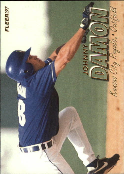 1997 Fleer #112 Johnny Damon