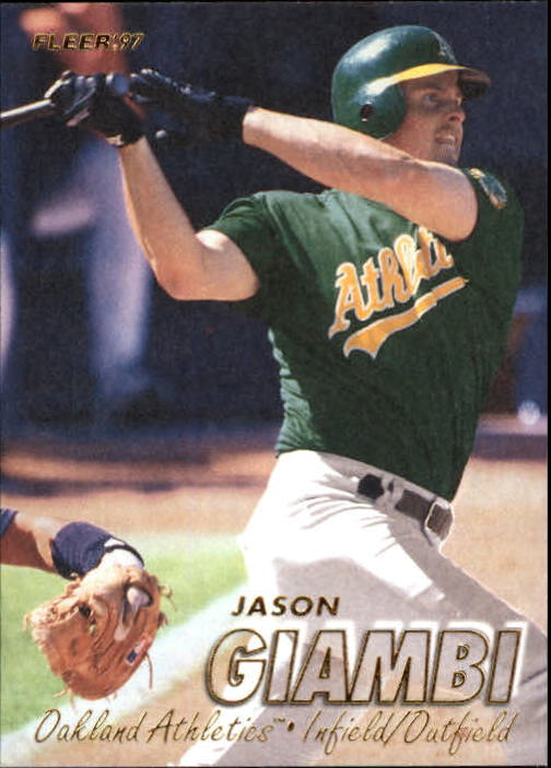 1997 Fleer #190 Jason Giambi
