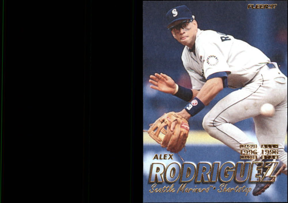 1997 Fleer #213 Alex Rodriguez