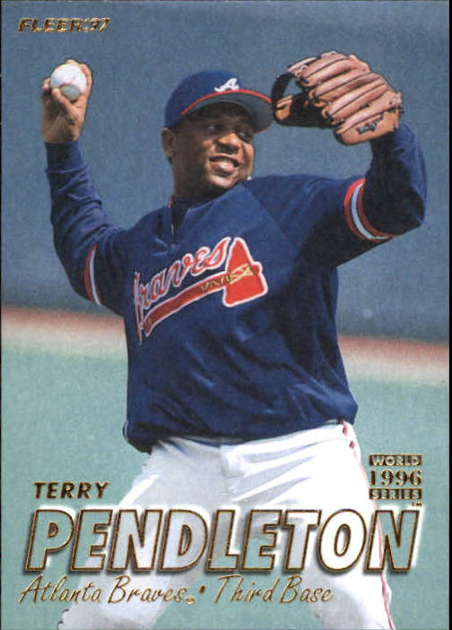 1997 Fleer #267 Terry Pendleton