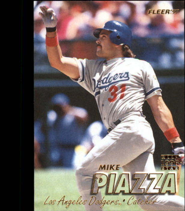 1997 Fleer #371 Mike Piazza