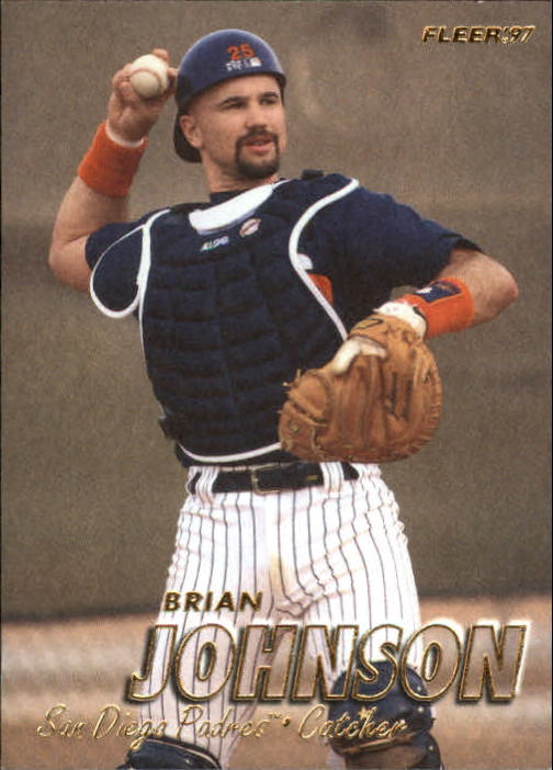 1997 Fleer #466 Brian Johnson