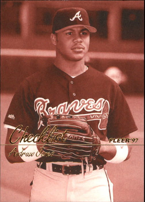 1997 Fleer #493 Andruw Jones CL