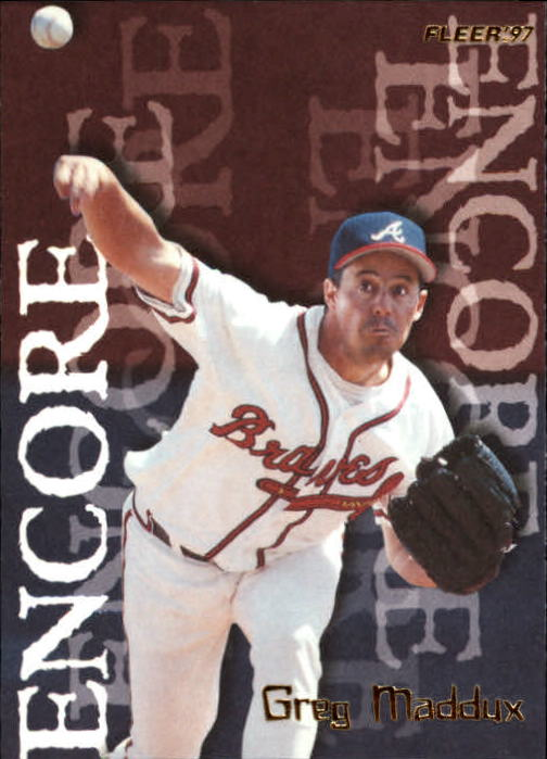 1997 Fleer #707 Greg Maddux ENC
