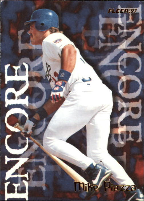 1997 Fleer #712 Mike Piazza ENC