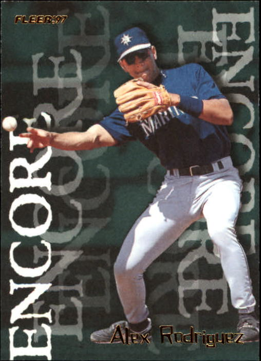 1997 Fleer #715 Alex Rodriguez ENC