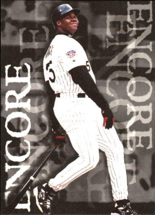1997 Fleer #718 Frank Thomas ENC