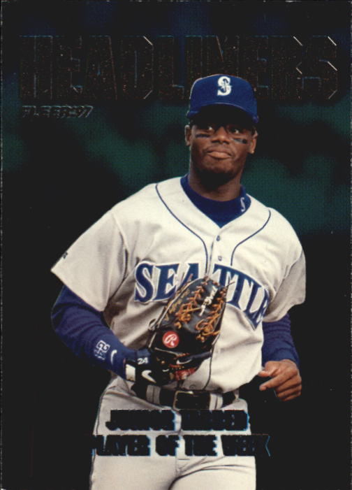 1997 Fleer Headliners #6 Ken Griffey Jr.