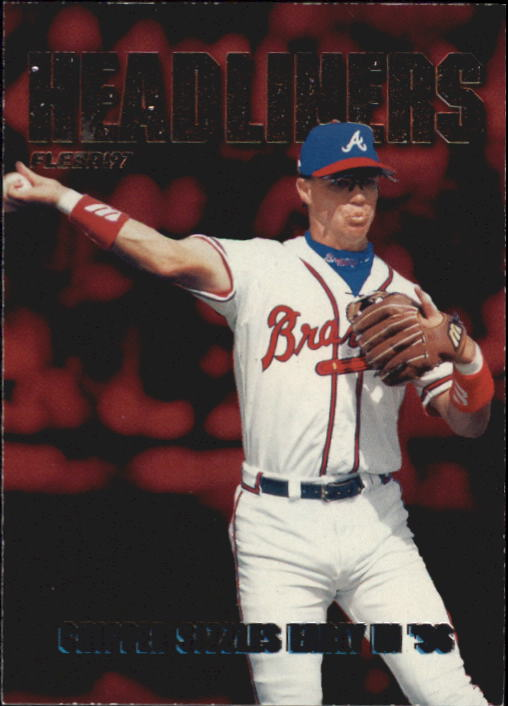 1997 Fleer Headliners #10 Chipper Jones