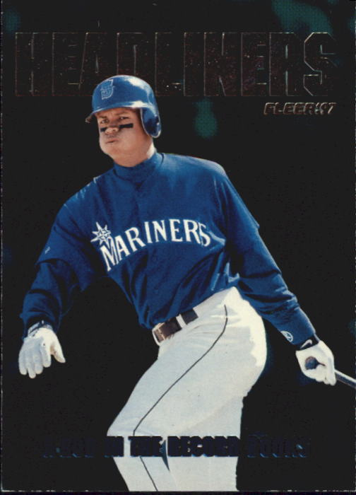 1997 Fleer Headliners #17 Alex Rodriguez