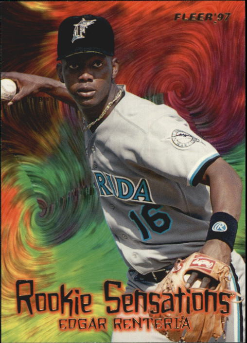 1997 Fleer Rookie Sensations #11 Edgar Renteria