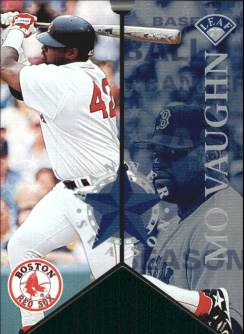 1997 Leaf Banner Season #8 Mo Vaughn