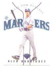 1997 Leaf Dress for Success #11 Alex Rodriguez