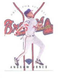 1997 Leaf Dress for Success #17 Andruw Jones